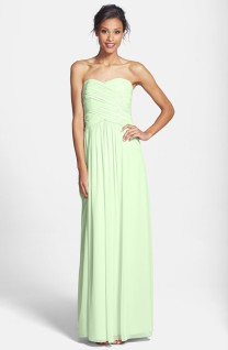 Donna Morgan 'Audrey' green bridesmaid dress, from nordstrom.com