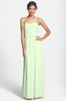 Donna Morgan 'Audrey' green bridesmaid dress, from nordstrom.com