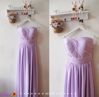 Lilac bridesmaid dress - www.etsy.com/shop/FashionStreets