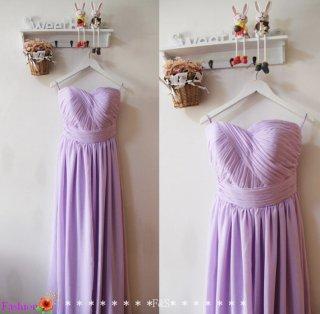 Lilac bridesmaid dress - www.etsy.com/shop/FashionStreets