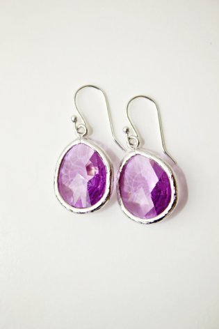 Lilac earrings - www.etsy.com/shop/Riverbirchjewelry