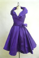Purple mother-of-the-bride dress - www.etsy.com/shop/MariaSeveryna