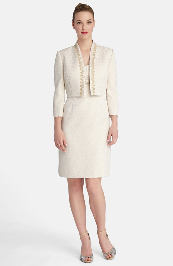 Tahari mother-of-the-bride dress and jacket, from nordstrom.com ...