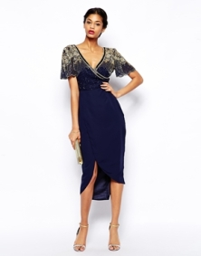 Virgos Lounge Julisa Midi Dress, from asos.com