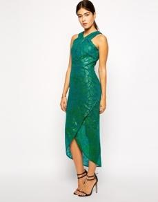 VLabel London Seymour High Neck Midi Dress, from asos.com