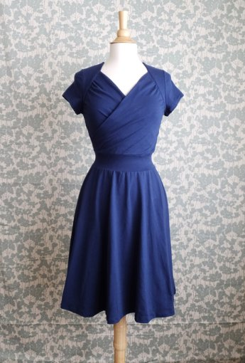 Navy bridesmaid dress - www.etsy.com/shop/ellainaboutique