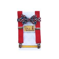 Ringbearer boy's suspenders and bow tie set - www.etsy.com/shop/TheLittlestGentleman