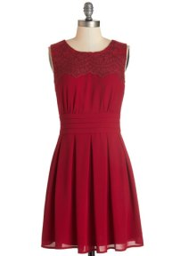 V-I-Pleased dress in wine - available from modcloth.com