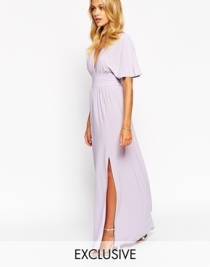 Love kimono sleeve maxi dress - asos.com