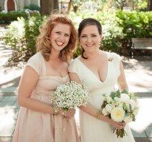 Cotton bridesmaid dress - www.etsy.com/shop/THREADBEAT