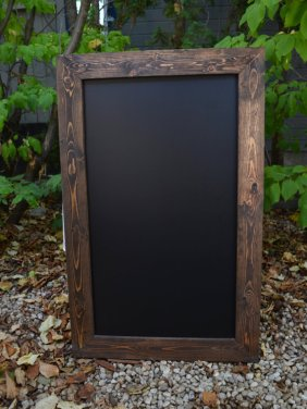 Framed chalkboard sign - www.etsy.com/shop/MintageDesigns