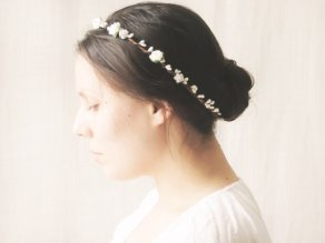 Rustic flower crown - www.etsy.com/shop/NoonOnTheMoon