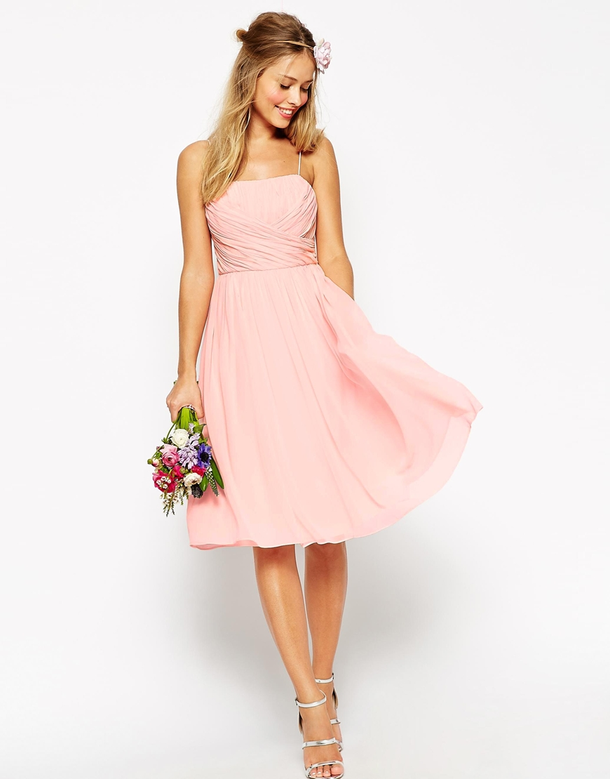 Bridesmaid dress options from asos.com | The Merry Bride