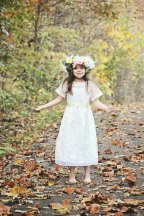 Boho flower girl dress - www.etsy.com/shop/chachalouise