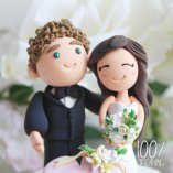 Customised cake toppers - www.etsy.com/shop/TheRosemarryToppers