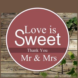 Downloadable wedding favour labels - www.etsy.com/shop/IsiDesigns