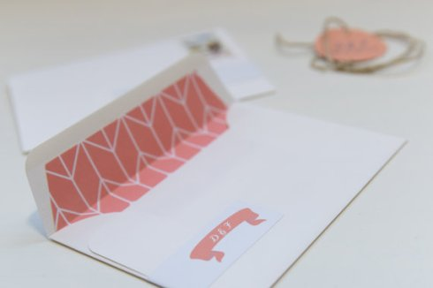 Envelope + liner - www.etsy.com/shop/loveideas