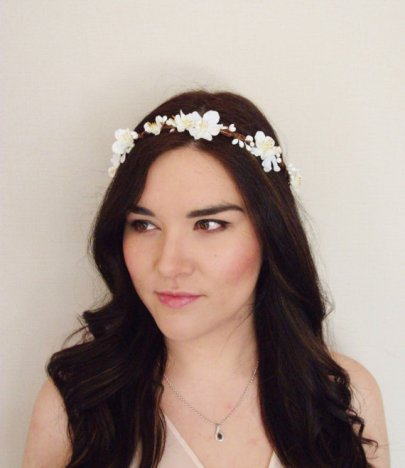 Floral crown - www.etsy.com/shop/MissWildFlowers