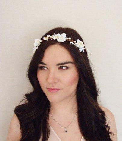 Floral crown - www.etsy.com/shop/MissWildFlowers