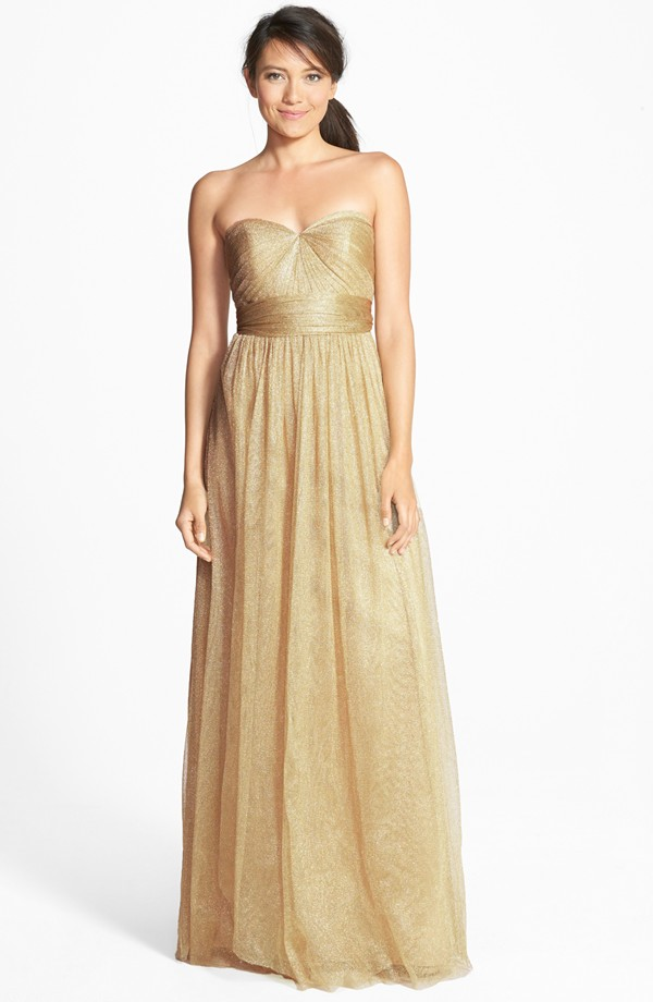 Taupe And Gold Wedding The Merry Bride