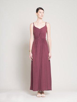 Marsala bridesmaid dress - www.etsy.com/shop/Lennyfashion