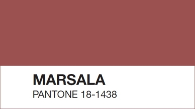 Pantone's 2015 colour of the year: Marsala