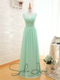 Mint bridesmaid dress - www.etsy.com/shop/SashaLoveNewZealand