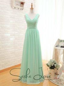 Mint bridesmaid dress - www.etsy.com/shop/SashaLoveNewZealand