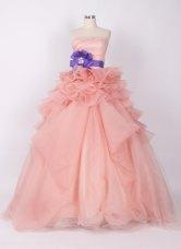 Peach wedding dress - www.etsy.com/shop/50Timeless