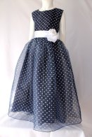 Polka dot flower girl dress - www.etsy.com/shop/TopKidFashion
