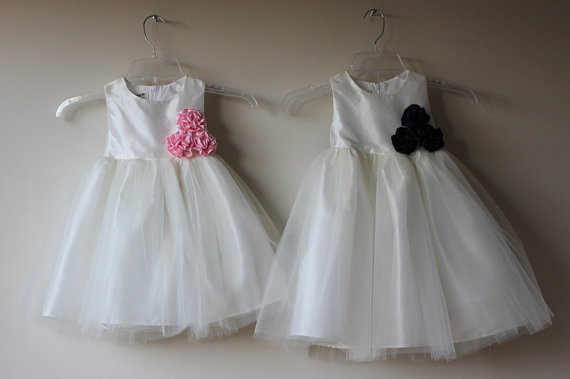 Flower girl dresses available on etsy.com | The Merry Bride