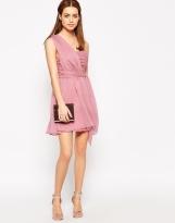 True Decadence Petite One Shoulder Soft Prom Dress, from asos.com