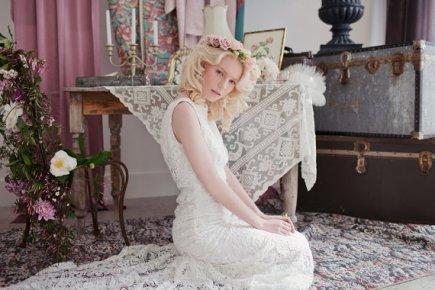 'Verona' wedding dress - www.etsy.com/shop/theflowerbride
