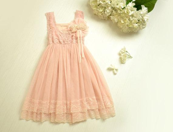 Flower Girl Dresses Available On Etsy.com