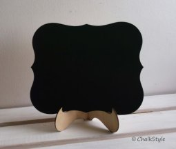 Chalkboard with stand - www.etsy.com/shop/ChalkStyle