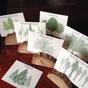 Tree table names - www.etsy.com/shop/JTLCREATIONS
