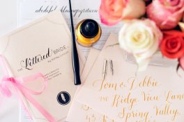 DIY calligraphy kit - www.etsy.com/shop/AshleyLurcott