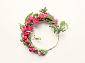 DIY flower crown kit - just add flowers! - www.etsy.com/shop/whichgoose