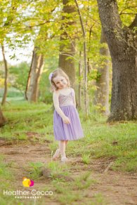 Lavender and gold flower girl dress - www.etsy.com/shop/AvaMadisonBoutique