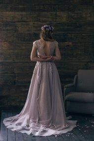Lavender bridal gown - www.etsy.com/shop/CathyTelle