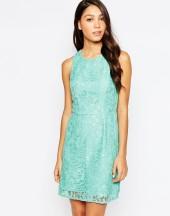 Oasis Crochet Lace Layer Dress - asos.com