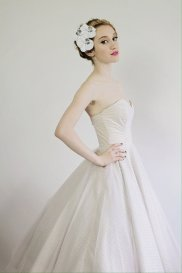 Rockabilly-style wedding dress $US495 - www.etsy.com/shop/MissBrache