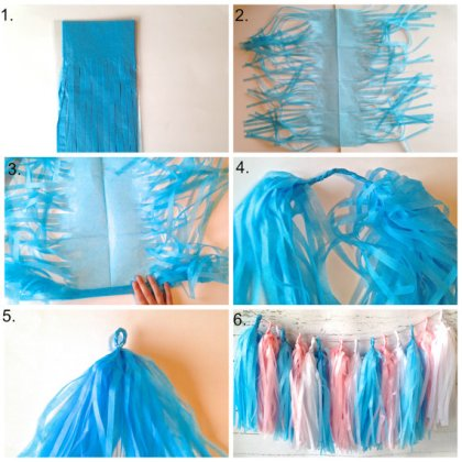 Tassel garland DIY kit - www.etsy.com/shop/Twigsandtwirlsllc