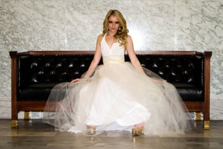 Tulle wedding dress US$448 - www.etsy.com/shop/MJVOCouture