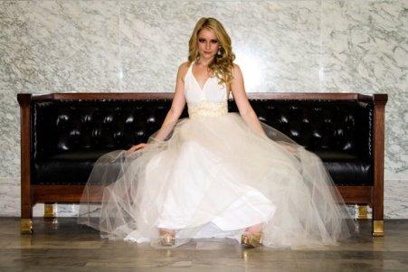 Tulle wedding dress US$448 - www.etsy.com/shop/MJVOCouture