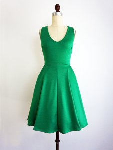 Emerald bridesmaid dress - www.etsy.com/shop/ShopApricity
