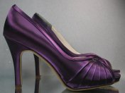 Purple wedding heels - www.etsy.com/shop/DesignYourPedestal