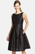Alfred Sung black bridesmaid dress - nordstrom.com