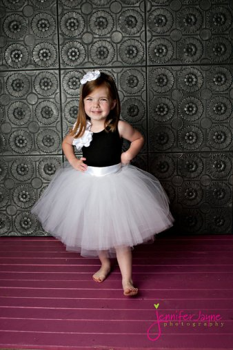 Black and white flower girl dress - www.etsy.com:shop:BambaroosBoutique