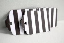 Black and white gift tags - www.etsy.com:shop:karliboutique